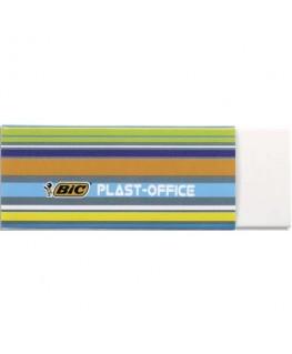Gomme plastique blanche sans PVC avec fourreau carton décoré Bic®