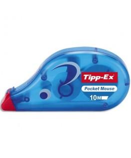 Roller de correction à sec jetable Tipp-Ex® Pocket Mouse 4.2 mm x 10 m