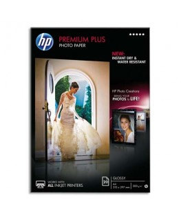Boîte de 20 feuilles papier photo Premium Plus A4 300g