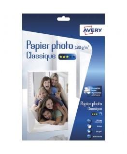 Boîte de 40 feuilles de papier photo brillant A4