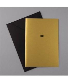 Carte de vœux GOLDEN YEARS Heart