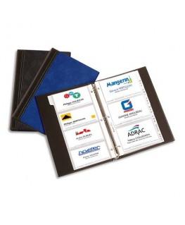 Sachet de 10 pochettes de 4 vues transparentes pour cartes de visite Elégance - Elba®