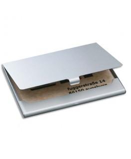 Etui à cartes en aluminium