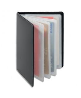 Porte-cartes Anti RFID Gris anthracite