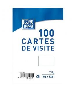 Boîte de 100 carte de visite 210g
