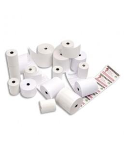 Bobine pour caisse enregistreuse papier thermique blanc 58g