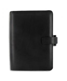 Organiseur Metropol 13.5 x 19 cm format Personal en simili cuir noir - filoFax®