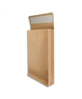 Boîte de 25 pochettes kraft armé brun 120g
