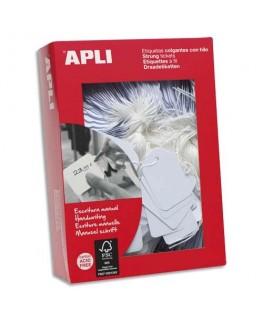 Boîte de 500 étiquettes Bijouterie format 13 x 20 mm - Apli Agipa®