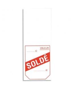 """Boîte de 1000 étiquettes """"à cheval"""" pré-imprimées SOLDÉ 50 x 125 mm - Avery®"""