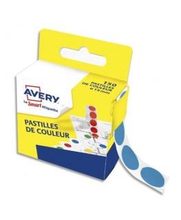 Boîte distributrice de 150 pastilles adhésives Ø15 mm