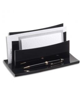 Trieur à enveloppes Acrylight coloris noir - CEP