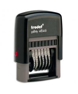 Timbre numéroteur à encrage automatique Printy 4846