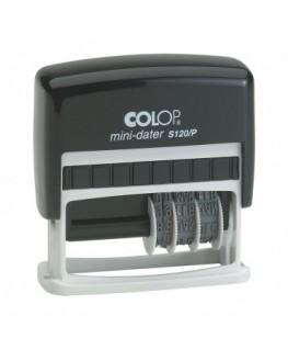 Mini dateur personnalisé Colop® S120P + 1 ligne maximum