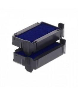 Cassette d'encrage 6/4910 Colop® compatible pour Trodat Printy dateur 4810 coloris bleu