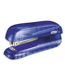 Mini agrafeuse F5 bleu translucide