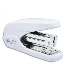 Agrafeuse poche Effort Minimal X5-25ps Blanche en métal et plastique