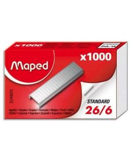 Boîte de 1000 agrafes 26/6 - Maped®