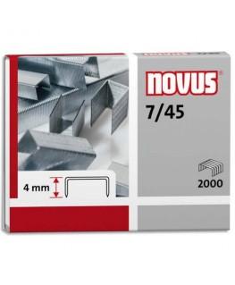 Blister de 2000 agrafes 7/45  - Novus®