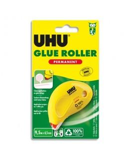 Roller de colle Dry & Clean jetable et permanent 8.5 mètres x 6.5 mm - UHU®