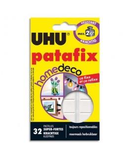 Etui de 32 pastilles blanches Patafix Deco - UHU®