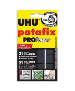 Etui de 21 pastilles Patafix Pro Power adhésives résistantes pour utilisation intérieure et extérieure - UHU®