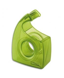 Dévidoir Easy Cut forme escargot recyclé vert transparent - Tesa®