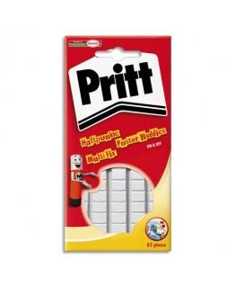 Pochette de 55 pastilles adhésives blanche Multifix - Pritt