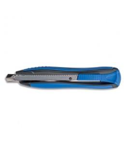 Cutter métal et plastique lame 9 mm autobloquante Zenoa Sensitiv bleu - Maped®