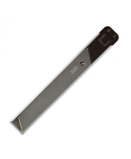 Recharge métallique de 6 lames de cutter 18 mm pour cutter - Safetool®