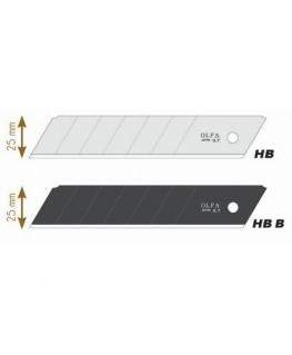 Recharge de 5 lames HB-5B en acier inoxydable