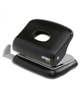Perforateur 2 trous ECO20 avec 100% de plastique recyclé, coloris noir, capacité 20 feuilles - Rapid®
