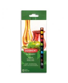 Set de 12 pastels à l'huile