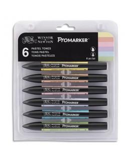 Boîte de 6 marqueurs ProMarker