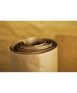 Rouleau de papier Kraft couleur or recto-verso 70g