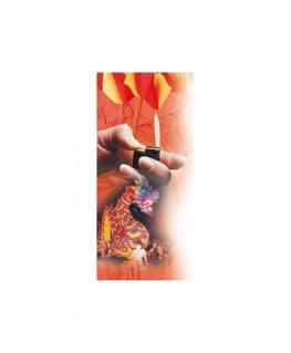 Paquet de 10 feuilles de crépon ignifugé 2 x 0.5 m couleurs assorties - Clairefontaine