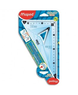 Equerre 45° 21 cm incassable - Maped®