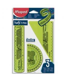 Kit 3 pièces TWIST 'N FLEX coloris assortis - Maped®
