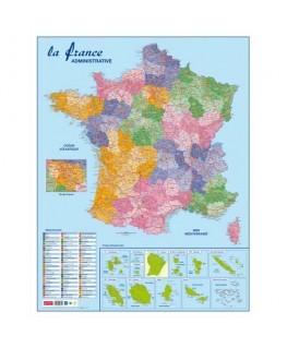 Carte France Administrative