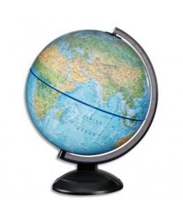 Globe en kit prêt à monter (avec notice de montage) lumineux sphère bleue 30 cm - JPC SCANGLOBE