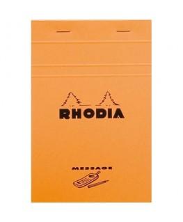 Bloc message n°140 format 11 x 17 cm 80g - Rhodia®