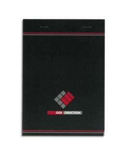 Bloc direction 70g format 14.8 x 21 cm réglure 5x5 agrafé - Hamelin