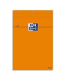 Bloc IDEA format 7.4 x 10.5 cm 80g non perforée 5x5 - Oxford