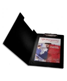 Porte Bloc avec rabat en PVC pour documents A4+