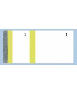 Bloc vendeur 100 feuillets 60 x 135 mm jaune - Exacompta