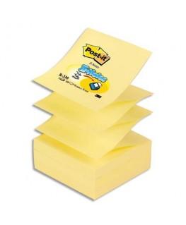 Recharge Z-notes 100 feuilles 7.6 x 7.6 cm jaune - Post-It®