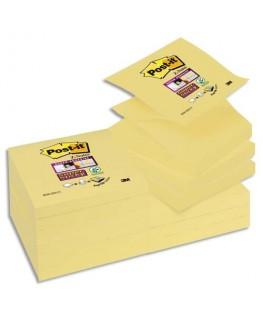 Recharge Z-notes 90 feuilles 7.6 x 7.6 cm jaune - Post-It®