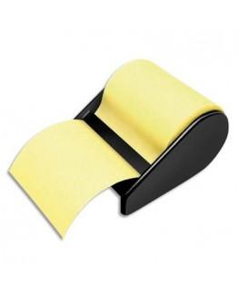 Devidoir avec notes repositionnables jaune