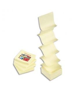 Bloc de 100 feuilles repostionnables accordéon