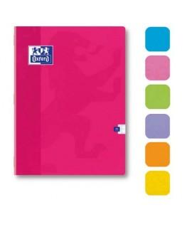 Cahier Color'Life piqûre 48 pages Seyès 17 x 22 cm